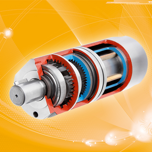 Airmotor with planetary gearbox